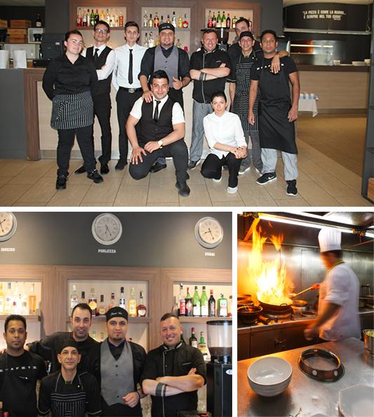 Staff Cucina e Sala Osteria del Porto